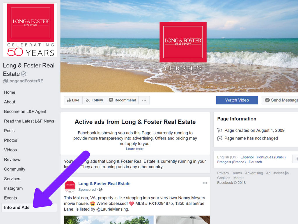 Facebook targeting how to spy o your real estate competitors facebook ads