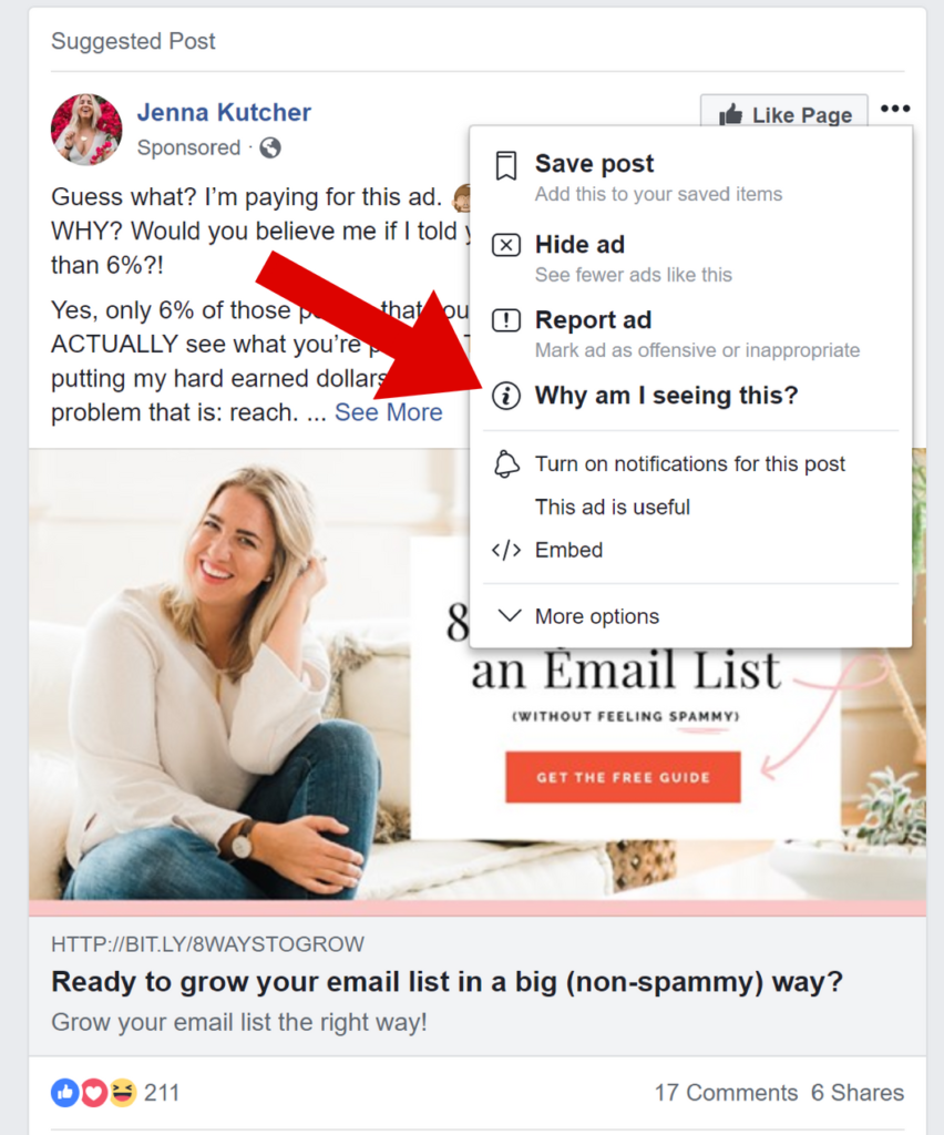 Facebook targeting how to spy on your real estate competitors facebook ads