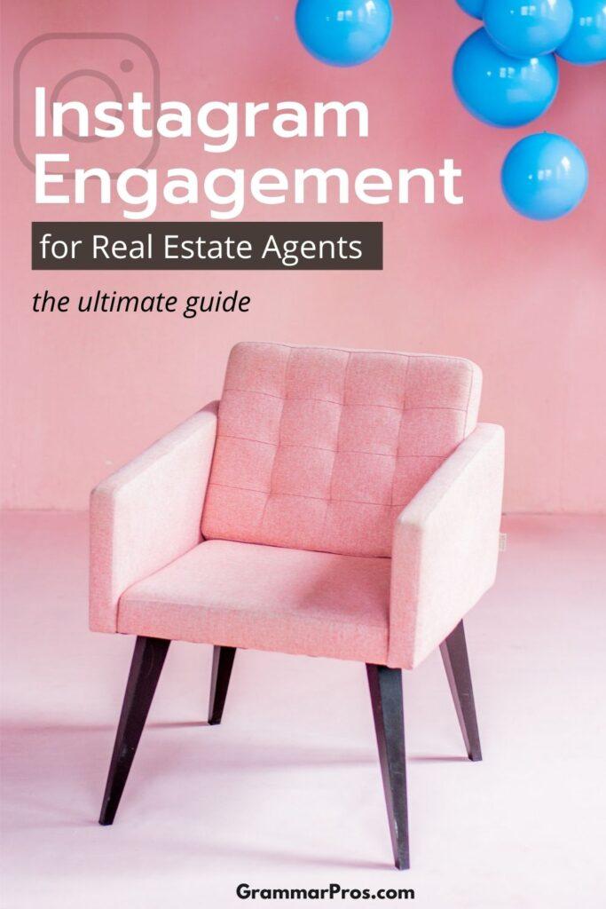 instagram engagement for real estate agents